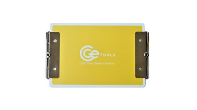 CGE Tools Double-Clip Clipboard - Yellow