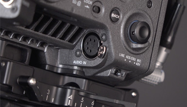 Intro image for article At the Bench: Audio and the Sony VENICE Camera