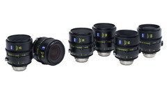 ZEISS Supreme Prime 6-Lens Set - Imperial, PL Mount