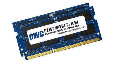 OWC 8GB Memory Upgrade Kit (2 x 4GB), Installed and Tested