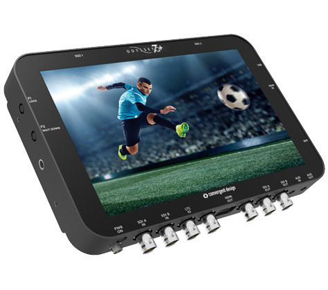 """Convergent Design Odyssey 7Q+ 7 7"""" OLED Monitor/Recorder 