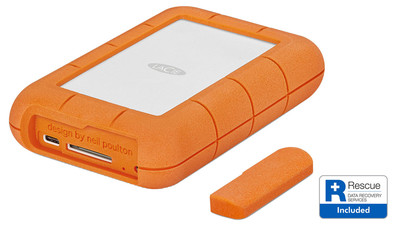 LaCie Rugged RAID Pro HDD with Rescue Data Recovery - 4TB