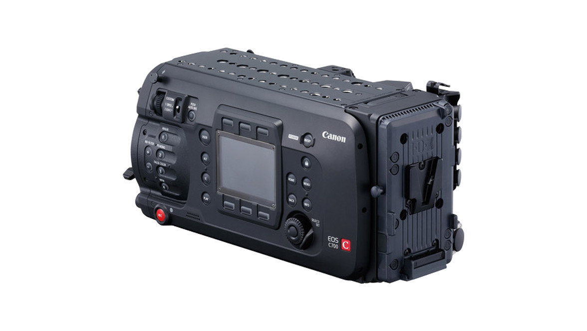 Canon EOS C700 GS (Global Shutter) Cinema Camera - PL Mount