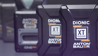 Intro image for article At the Bench: Anton Bauer Dionic XT Batteries