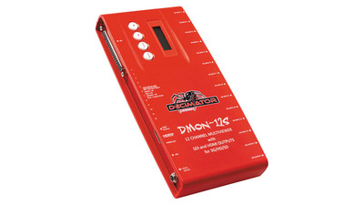 Decimator DMON-12S 12-Channel Multiviewer with SDI & HDMI Outputs