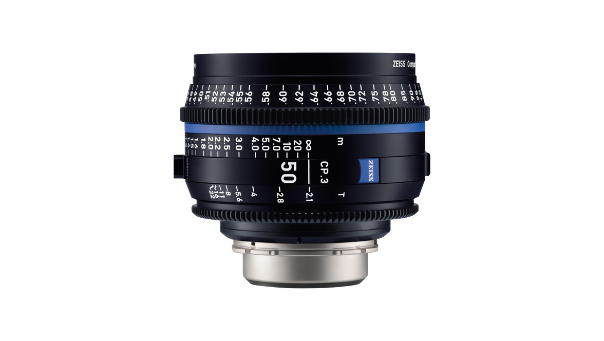 ZEISS CP 3 50mm Compact Prime T2 1 - Imperial, EF Mount