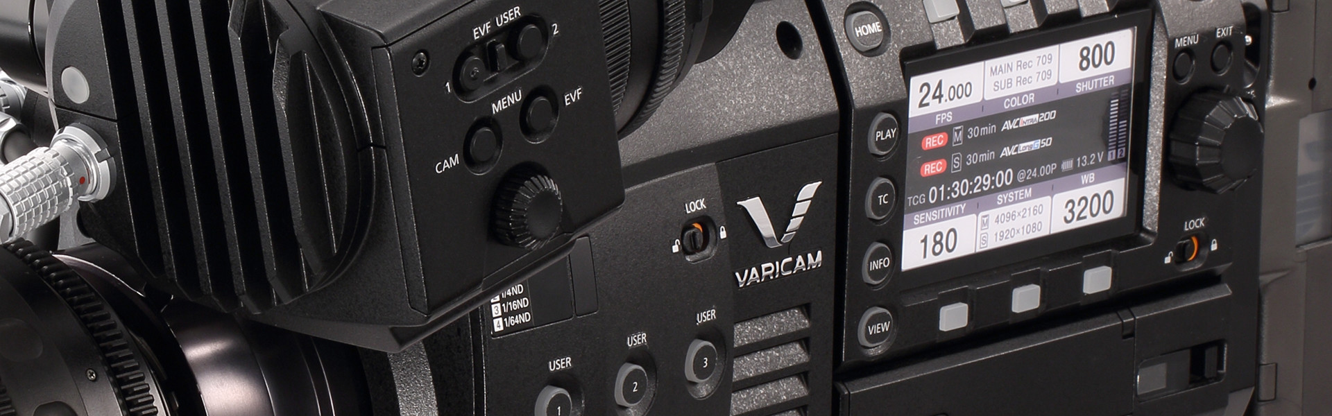 Header image for article Panasonic VariCam 35/HS Camera Simulator