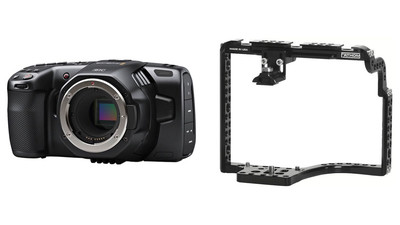 Blackmagic Design Pocket Cinema Camera 6K with Fathom Camera Cage One