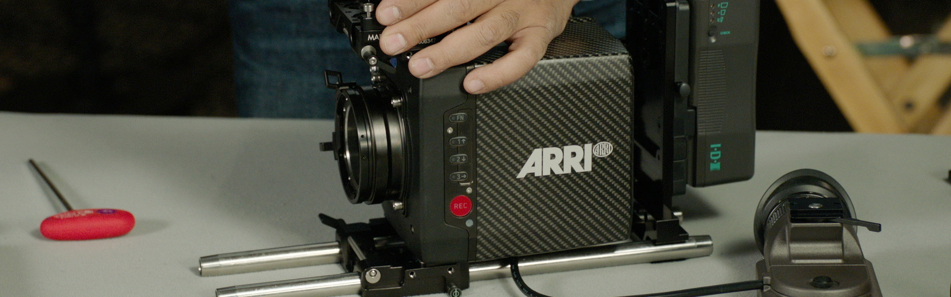 Header image for article ALEXA Mini: Multiple Configurations and New Accessories