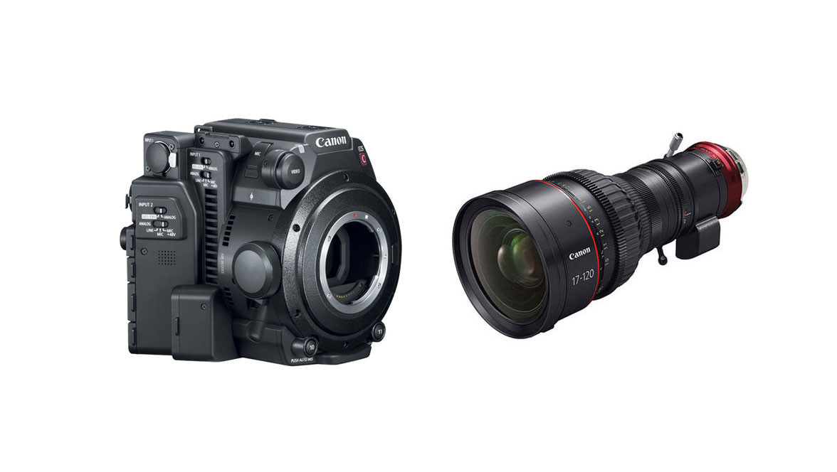 Canon C200 Camera (Body Only) & 17-120mm CINE-SERVO