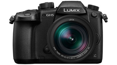 Panasonic LUMIX GH5 4K Mirrorless Camera with Lumix G Leica 12-60mm f/2.8-4 Zoom