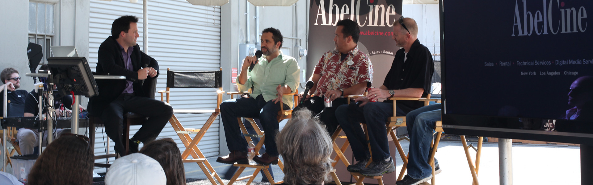 Header image for article Discussions of Technology and Craft at AbelCine's 25 Year Event in LA