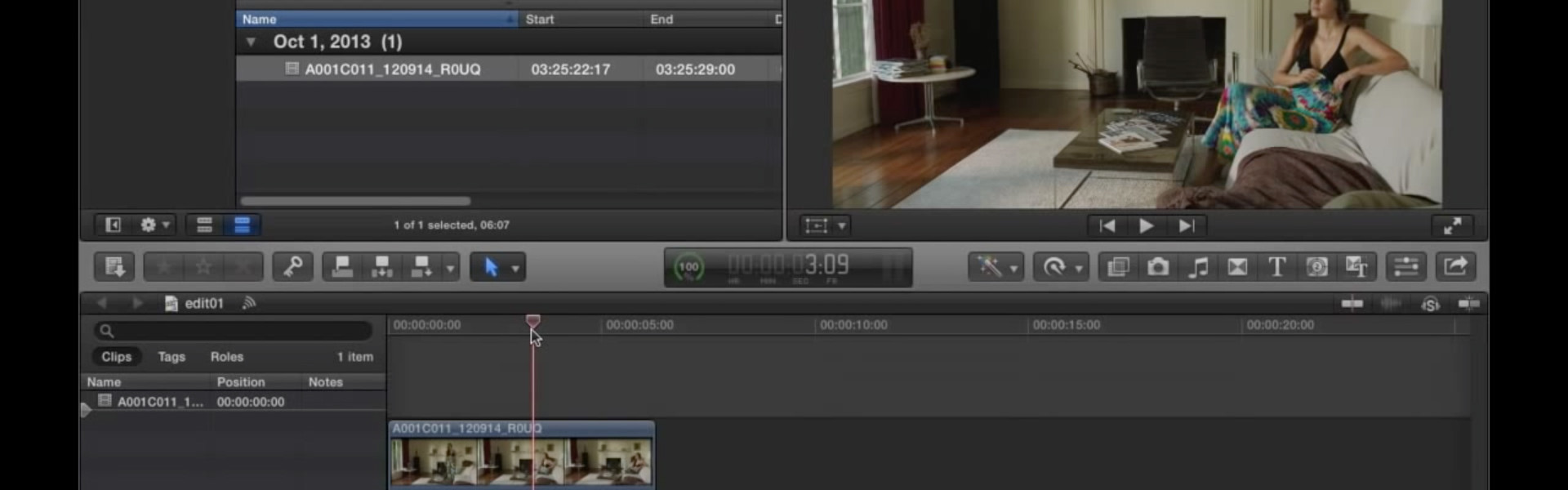 Viewing ALEXA Log C Footage in Final Cut Pro X | Tutorials & Guides
