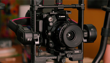 Intro image for article At the Bench: Configuring the Canon C500 Mk II Camera