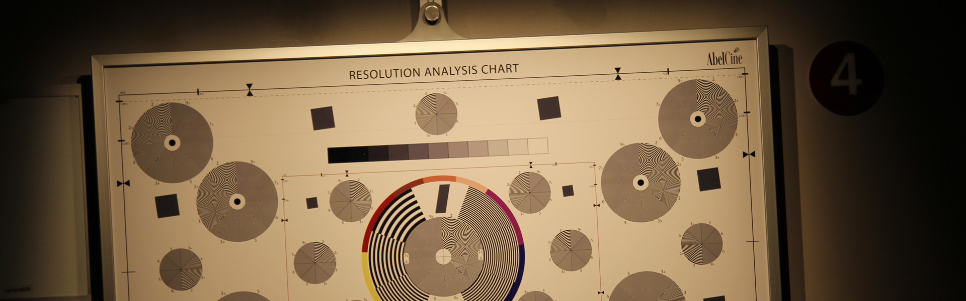 Header image for article AbelCine's New Family of Resolution Analysis Charts