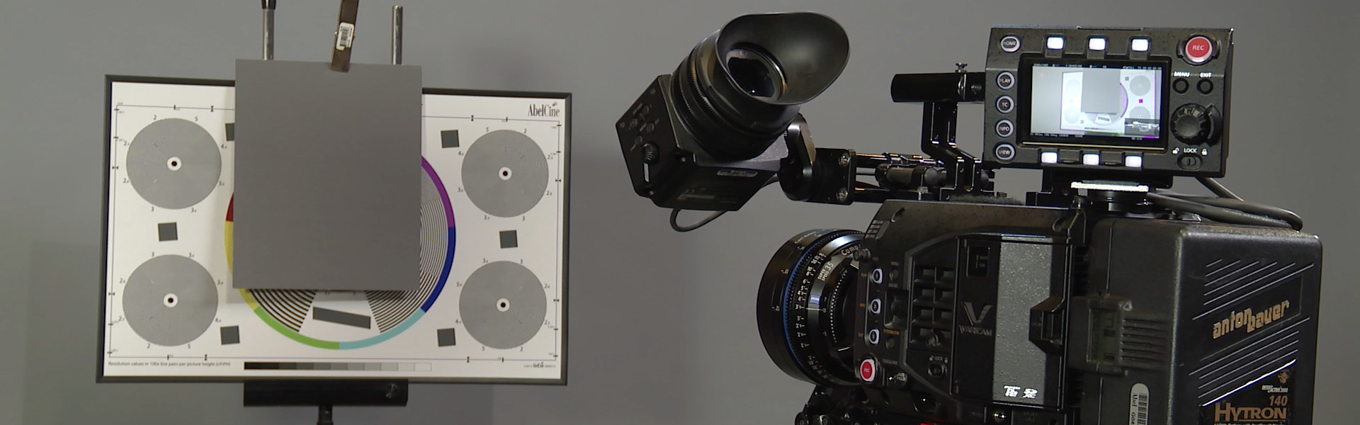 Header image for article At the Bench: Panasonic VariCam Exposure Tools