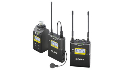 Sony UWP-D16/30 Bodypack-Lav Mic and Plug-on ENG Package (UHF Channels 30/36 and 38/41: 566 to 608 and 614 to 638 MHz)