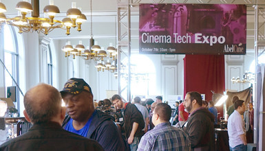 Intro image for article Chicago Cinema Tech Expo 2017 Roundup