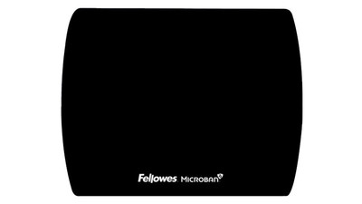 Fellowes Microban Mouse Pad - Black