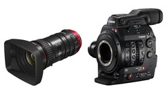 Canon Cinema EOS C300 Mk II Camera and 18-80mm T4.4 Compact Servo Zoom Lens Bundle