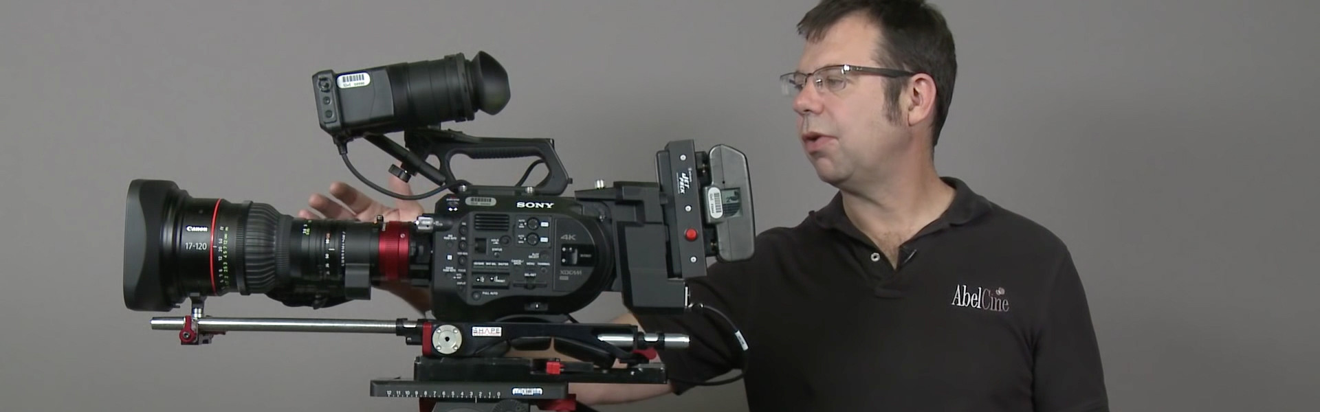 Header image for article At the Bench: Canon Cine-Servo 17-120 Multiple Camera Configurations