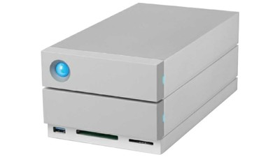 LaCie 2Big Dock USB 3.1-C & Thunderbolt 3 Enterprise RAID Array with Rescue - 8TB