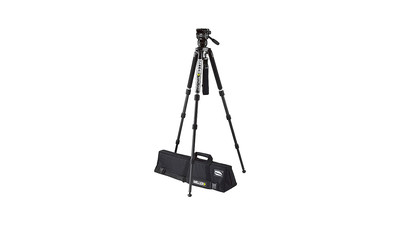 Miller Compass 12 Solo 3-Stage Carbon Fiber Tripod System - 75mm Ball