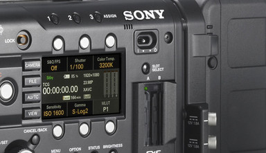 Intro image for article Sony Reveals New AXS Media for Raw Recording on the F5 & F55