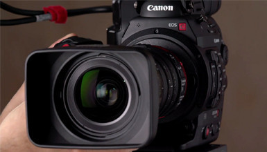 Intro image for article 4K for $10K: Canon C300 MK II