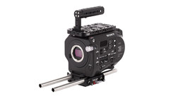 Sony FS7 Mk II 4K Camera Body with Wooden Camera Unified Base Accessory Kit - Holiday Promo