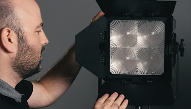 Intro image for article At the Bench with Jem Schofield: Fiilex Matrix LED Panel Light