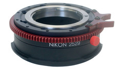 OptiTek ProLock Sony F to Nikon F/G Mount Adapter for Sony F3, F5 and F55