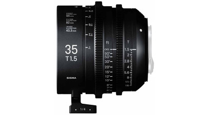 Sigma 35mm T1.5 FF High Speed Prime - Imperial, EF Mount