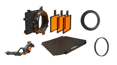 Bright Tangerine VIV Swing Away Mattebox AbelCine Kit