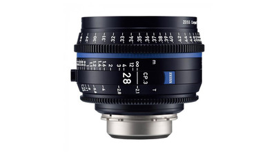 ZEISS CP.3 28mm Compact Prime T2.1 - Metric, PL Mount
