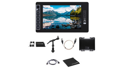 "SmallHD Bundle with 7"" SmallHD 703U UltraBright LCD Monitor and Accessories"