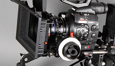 Intro image for article Lenses and Accessories for the Canon C500