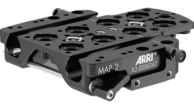 ARRI MAP-2 Adapter Plate with Rod Support for ALEXA Mini