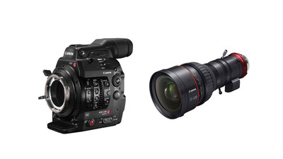 Canon C300 MK II Camera with PL Mount & 17-120mm CINE-SERVO Zoom Kit