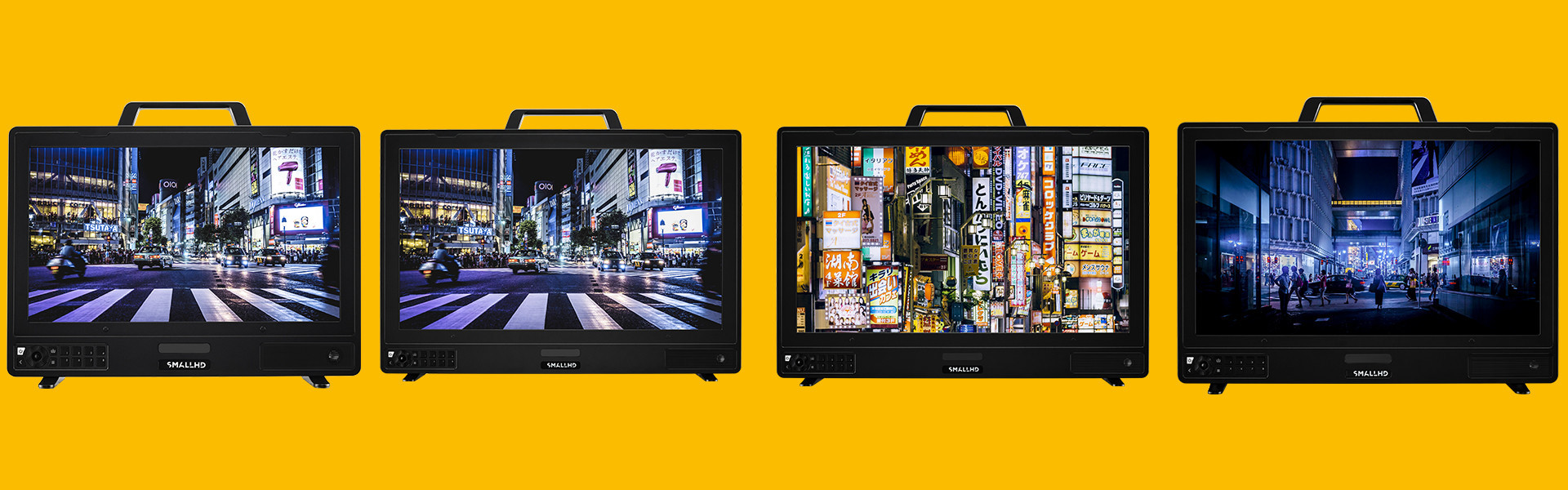 Header image for article New 4K Monitors Available from SmallHD