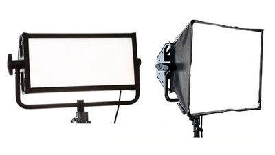 Litepanels 2-Light Gemini LED Panel Kit with Softbox and Case