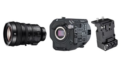 Sony PXW-FS7 Mark II 4K Camera Kit with 18-110mm Lens, XDCA and CODEC Extension Unit Kit