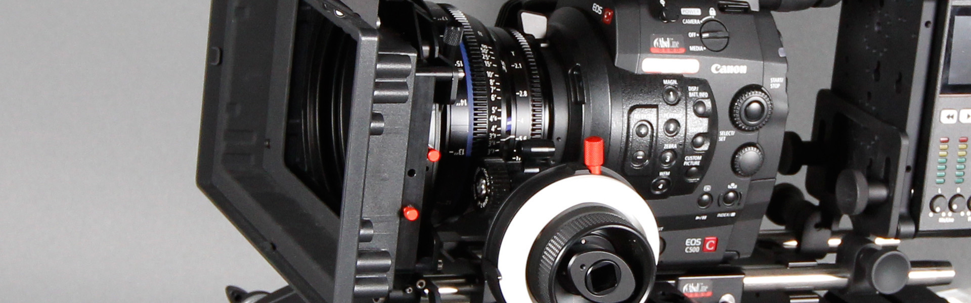 Header image for article Lenses and Accessories for the Canon C500