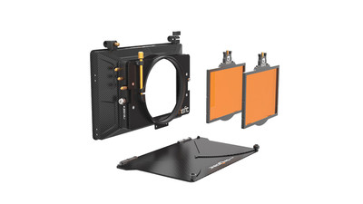 "Bright Tangerine Misfit 2-Stage Mattebox Kit #1 - 4x5.65"", 114mm Clamp-on"