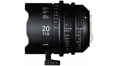 Sigma 20mm T1.5 FF High Speed Prime - Imperial, EF Mount