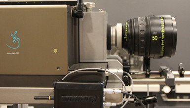 Intro image for article AbelCine Service: Why We Switched to the Gecko-Cam Collimator & Projector