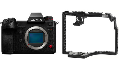 Panasonic LUMIX DC-S1H Camera Body with Fathom Camera Cage One