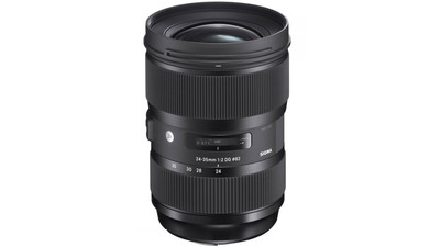 Sigma 24-35mm f/2 DG HSM Art Zoom - EF Mount