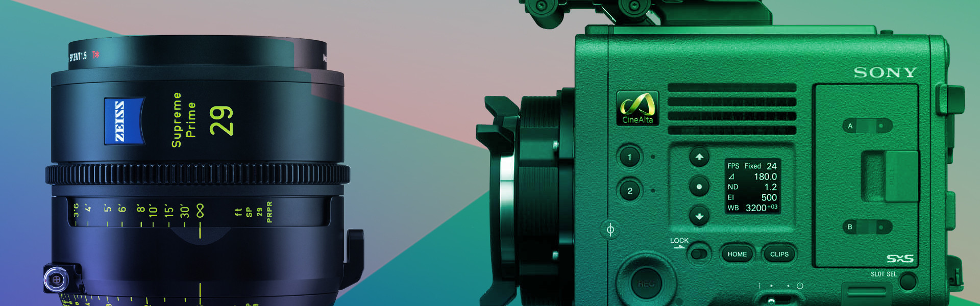 Header image for article AbelCare Offer on Sony VENICE & ZEISS Supreme Primes