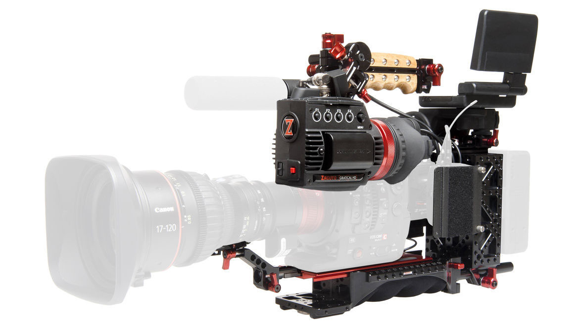 Zacuto ENG Rig for Canon C300 MK II Digital Cinema Camera